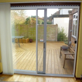 Sliding Fly Screen for Patio Doors (DIY Kit)