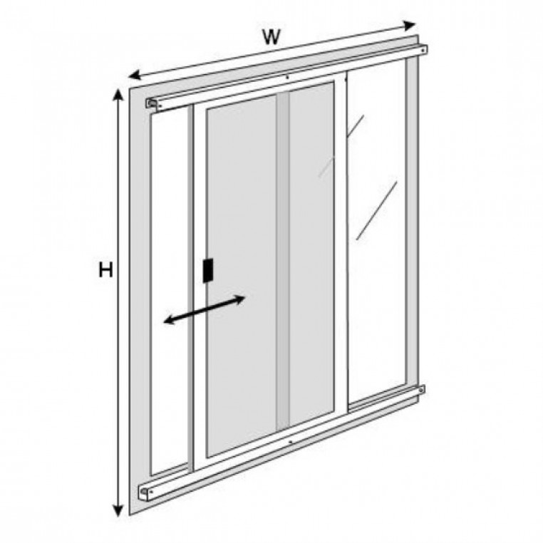 Sliding Fly Screen for Patio Doors (Made-to-Measure)
