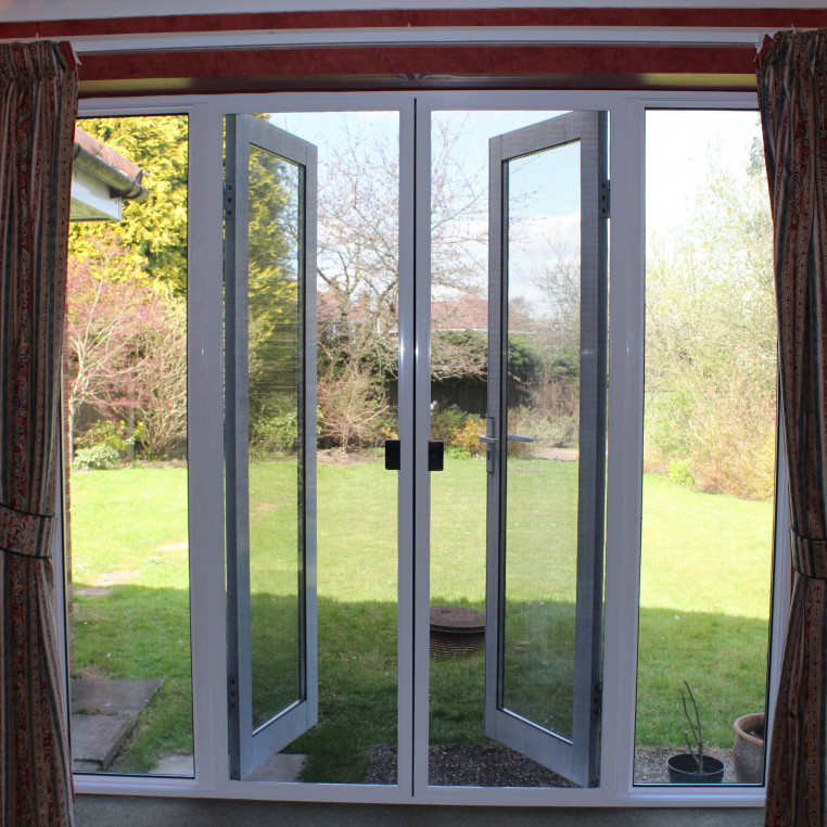 Butted Double Sliding Pet Screens for Doors (Made-to-Measure)