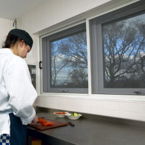 Twin Sliding Fly Screen for Windows - Commercial (Made-to-Measure)