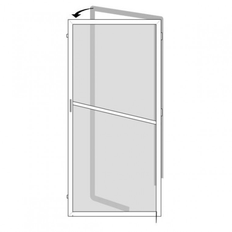 Premium Pollen Screen for Single Doors (DIY Kit)