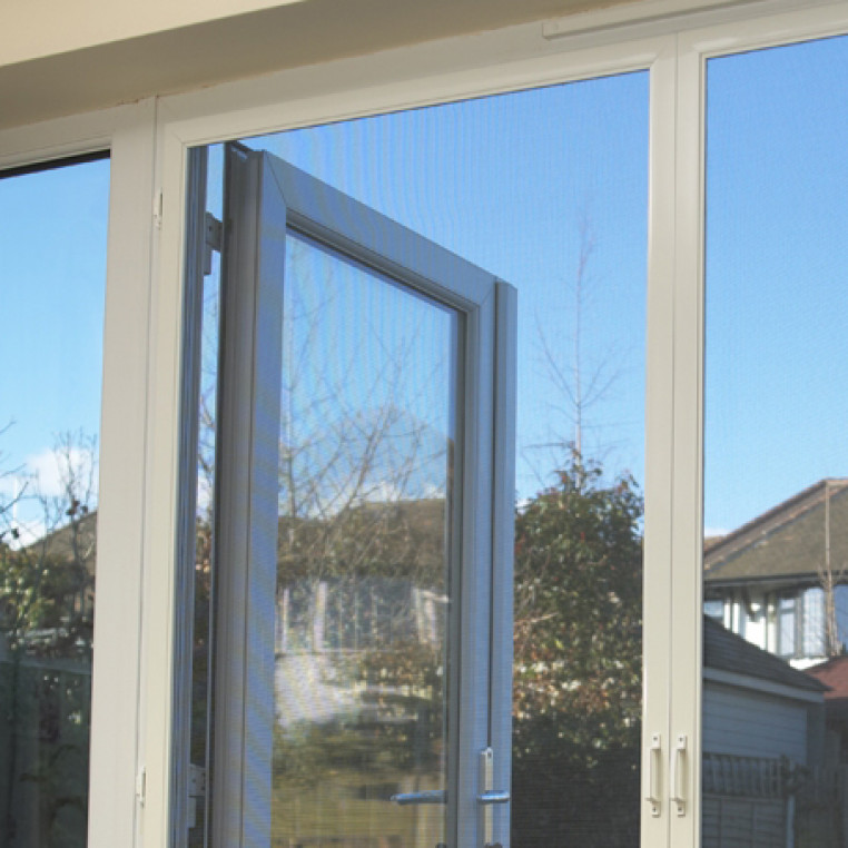Hinged Fly Screens for French Doors (DIY Kit)