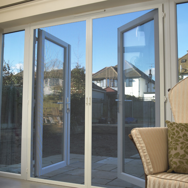 Hinged Fly Screens for French Doors (Made-to-Measure)