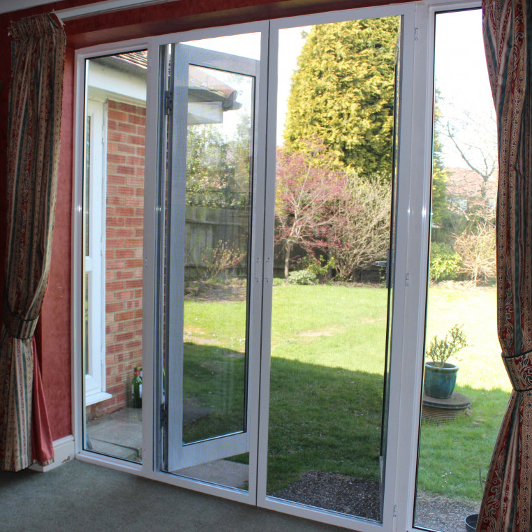 Hinged Pet Screens for French Doors (Made-to-Measure)