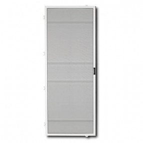 Hinged Fly Screen for Single Doors - Commercial (DIY Kit)