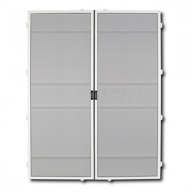 Hinged Fly Screens for Double Doors (DIY Kit)