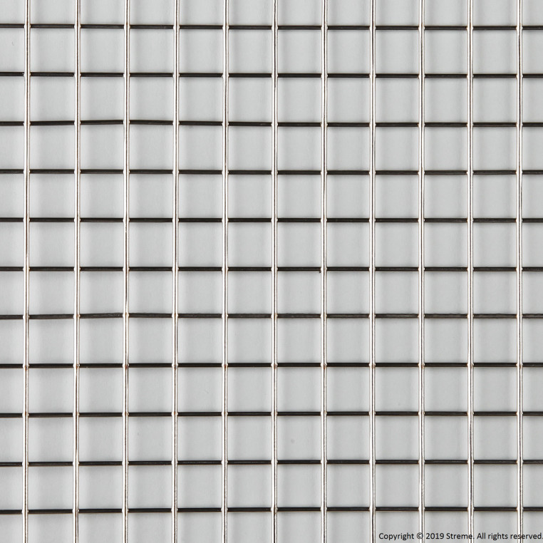 "1/2"" Welded Stainless Steel Mesh (1.6mm wire diameter) - 8' x 4' Panel"