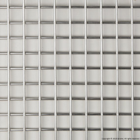 "3/4"" Welded Stainless Steel Mesh (2.5mm wire diameter) - 8' x 4' Panel"