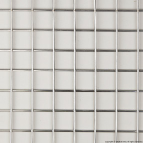 "1"" Welded Stainless Steel Mesh (2.5mm wire diameter) - 8' x 4' Panel"