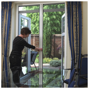 Roller Pollen Screens for Doors - Double (Made-to-Measure)