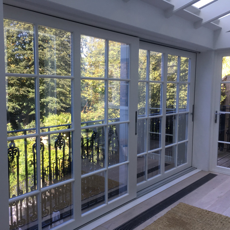 Solar Control Silver Window Film - Medium Reflection