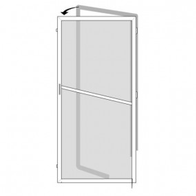 Pollution Filter for Single Doors (Made-to-Measure)