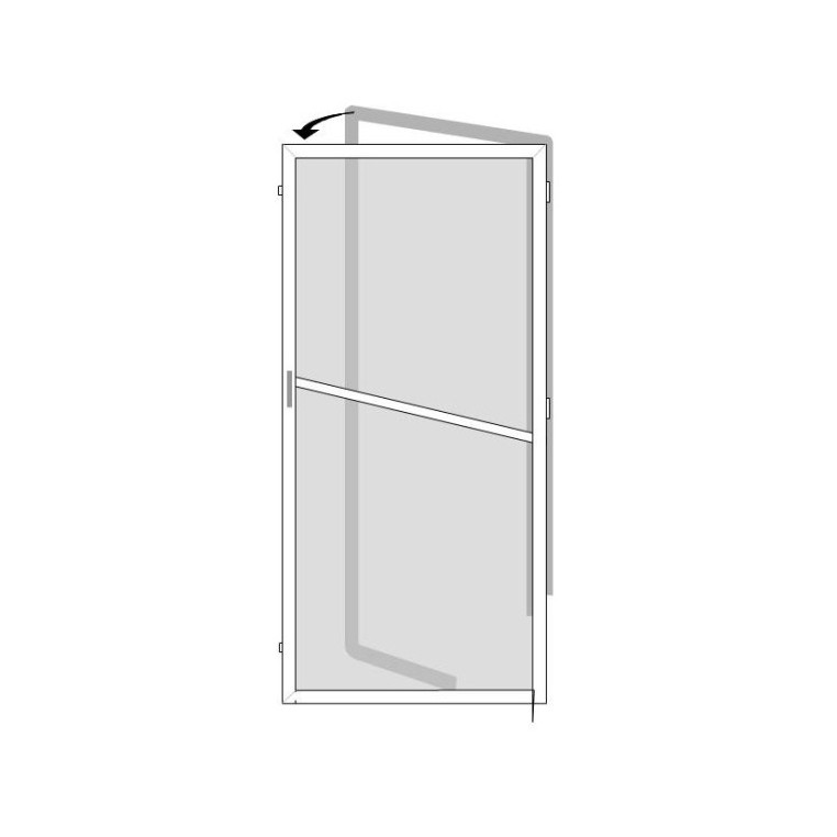 Solar Screen for Single Doors (Made-to-Measure)
